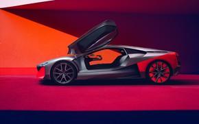 Picture BMW, BMW, wheel, bright background, Side View, Vision M NEXT, BMW Vision M, Visio