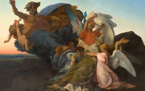 Picture picture, religion, Alexander Cabanel, Alexandre Cabanel, mythology, The Death Of Moses