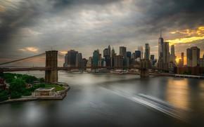 Picture bridge, New York, Brooklyn, Brooklyn