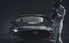 Picture Mazda, racer, Mazda 3, 2020, TCR