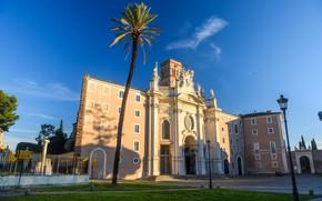 Picture Rome, Italy, Basilica, Санта-Кроче-ин-Джерусалемме