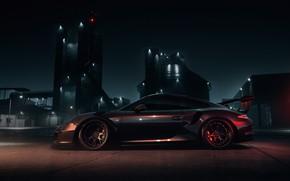 Picture Auto, Machine, Car, NFS, Need for Speed, Porsche 911, Sports car, Sportcar, Game Art, Mikhail …