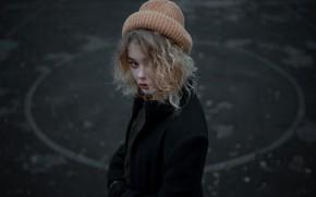 Picture hat, tenderness, curls, sponge, the beauty, Lisa, Anton Freis