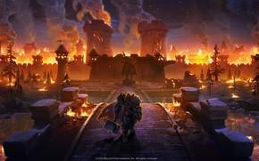 Picture The game, Warcraft, Blizzard, Art, Art, Paladin, Paladin, Arthas, Warcraft 3, Arthas, Illustration, Characters, Jaina …