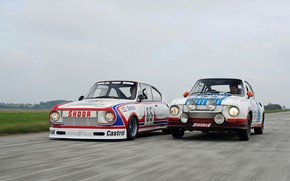 Picture coupe, options, Skoda, racing, Skoda, rally, 130 RS