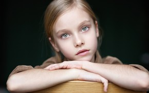 Picture portrait, girl, Alexander Vinogradov