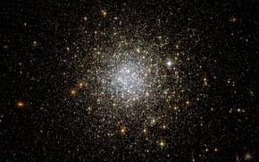 Picture Large Magellanic Cloud, RR Lyrae variable stars, NGC 1466, Globular cluster