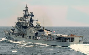 Picture destroyer, the project 61мэ, Ranvijay, the Indian Navy