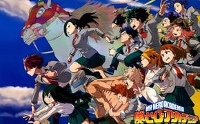 Picture characters, Boku No Hero Academy, My Hero Academy