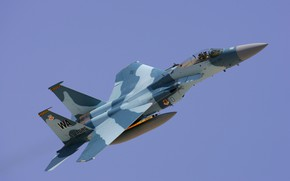 Picture Fighter, USAF, F-15C Eagle, Aggressor Squadron