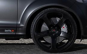 Picture Audi, wheel, TDI, 2012, V12, Quattro, SUV, Audi Q7, Fostla, Q7