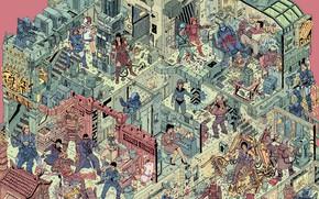 Picture Figure, Style, Battle, Predator, Battle, Samurai, Fantasy, Art, Nova, Attack, Blade, Xena, StarCraft, Samurai, Ellen …