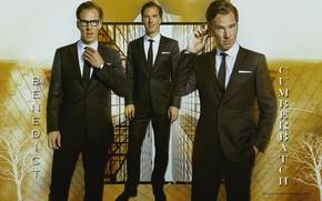 Picture collage, glasses, jacket, Benedict Cumberbatch, Benedict Cumberbatch, British actor, by happinessismusic