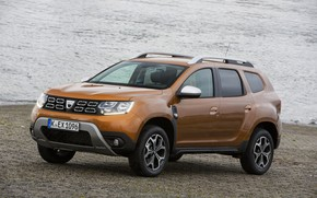 Picture Renault, on the shore, crossover, SUV, Duster, Dacia