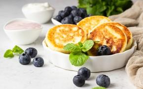 Picture berries, sour cream, cheesecakes, seatrac