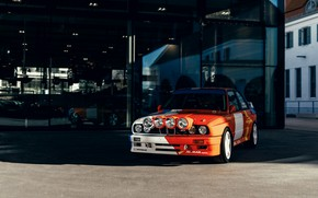 Picture BMW, front, E30, M3, M3 Rally