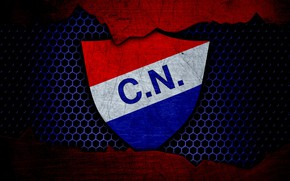 Picture wallpaper, sport, logo, football, Nacional Asuncion
