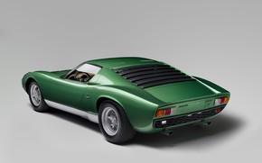 Picture Lamborghini, Miura, Lamborghini Miura P400 SV, One thousand nine hundred seventy one