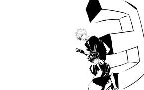 Picture guys, letter, black and white, My Hero Academia, Boku No Hero Academy, Midori Isuku, My …