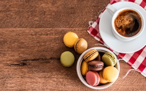 Picture Coffee, Cup, Coffee, Macarons, Pasta, Viktor Hanacek