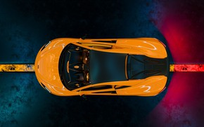 Picture McLaren, supercar, the view from the top, 570S