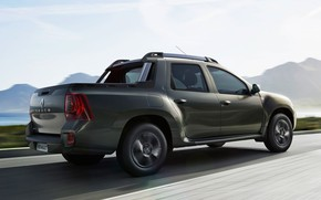 Picture car, Renault, logo, street, Duster, montain, Renault Duster, Duster Oroch, Oroch, Renault Duster Oroch