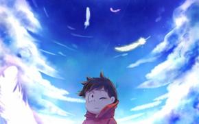 Picture the sky, boy, Osomatsu-San