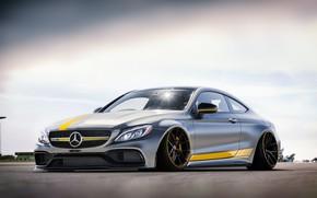 Picture Auto, Machine, Grey, Mercedes, AMG, C63, Transport & Vehicles, Mercedes C63, Edvin Cederqvist, by Edvin …