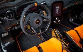 Picture orange, McLaren, interior, Senna, MSO, 2020, Senna LM