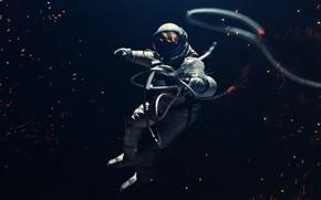 Picture Open, The suit, Astronaut, Costume, Sparks, Astronaut, Universe, Galaxy, Science Fiction, Astronaut, Cosmonaut, Visual Effects, …