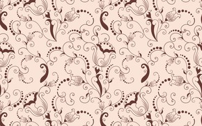 Picture flowers, background, texture, flower, background, pattern, seamless