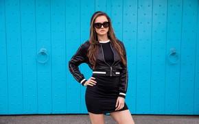 Picture glasses, girl, Tori Black, posing, model, pornstar, Tori Black