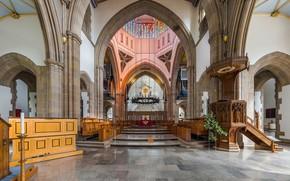 Picture interior, Cathedral, UK, The Pilgrim, Lancashire, Sanctuary, Lancashire, Diliff, Blackburn, Blackburn Cathedral, Blackburn