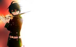 Picture sword, Owari no Seraph, The last Seraphim, Yuichiro Hakua