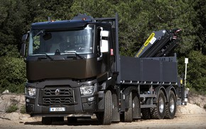 Picture trees, truck, Renault, body, four-axle, CMU, Renault Trucks, C-series