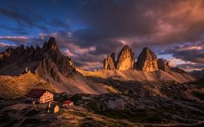 mountains, Italy, The Dolomites