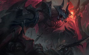 Picture Sword, Wings, Glove, Battle, Art, Rage, Splash, League of Legends, LoL, Artwork, League Of Legends, …