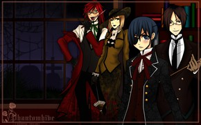 Picture characters, Kuroshitsuji, Dark Butler