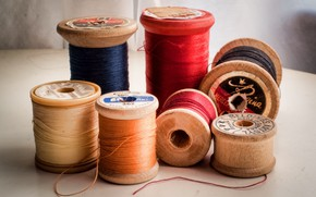 Picture background, color, thread