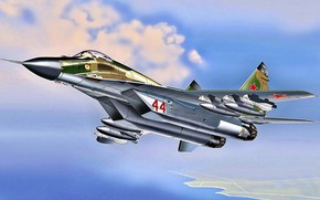 Picture USSR, The MiG-29, THE SOVIET AIR FORCE, (9-13), 115 GvIAP, the second production version