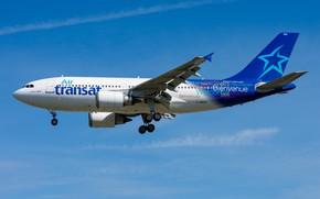 Picture Airbus, A310-300, C-GSAT Air Transat