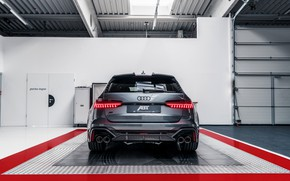 Picture Audi, rear view, ABBOT, universal, TFSI, RS 6, 2020, RS6-R, V8 Twin-Turbo, RS6 Avant, 4.0 …