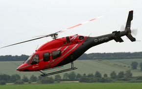 Picture helicopter, multipurpose, easy, Bell 429