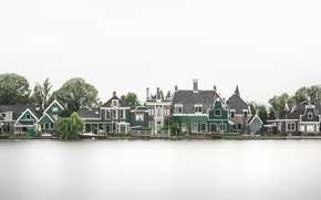 Picture reflection, home, Netherlands