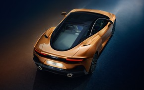 Picture McLaren, supercar, rear view, 2019, McLaren GT