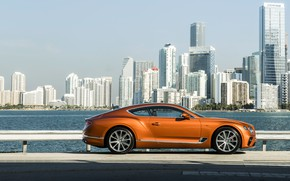 Picture coupe, Bentley, promenade, 2019, Continental GT V8