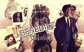 Picture collage, photos, Benedict Cumberbatch, Benedict Cumberbatch, British actor, by happinessismusic