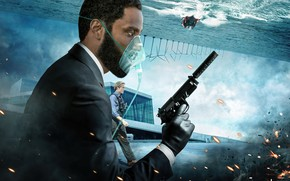 Picture the film, Christopher Nolan, tenet, Довод