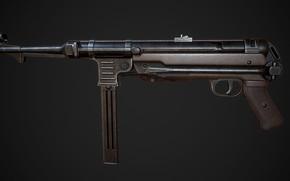 Picture Germany, MP 40, The gun, Heinrich Vollmer