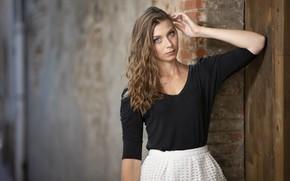 Picture look, girl, pose, model, hair, Tiffanie